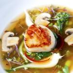 Scallop & Miso Soup