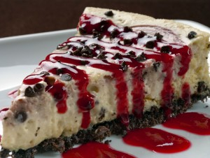 Cheesecake at Stone Hearth Grille